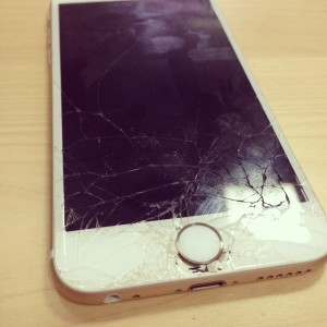 Cracked iPhone Screen in Detroit