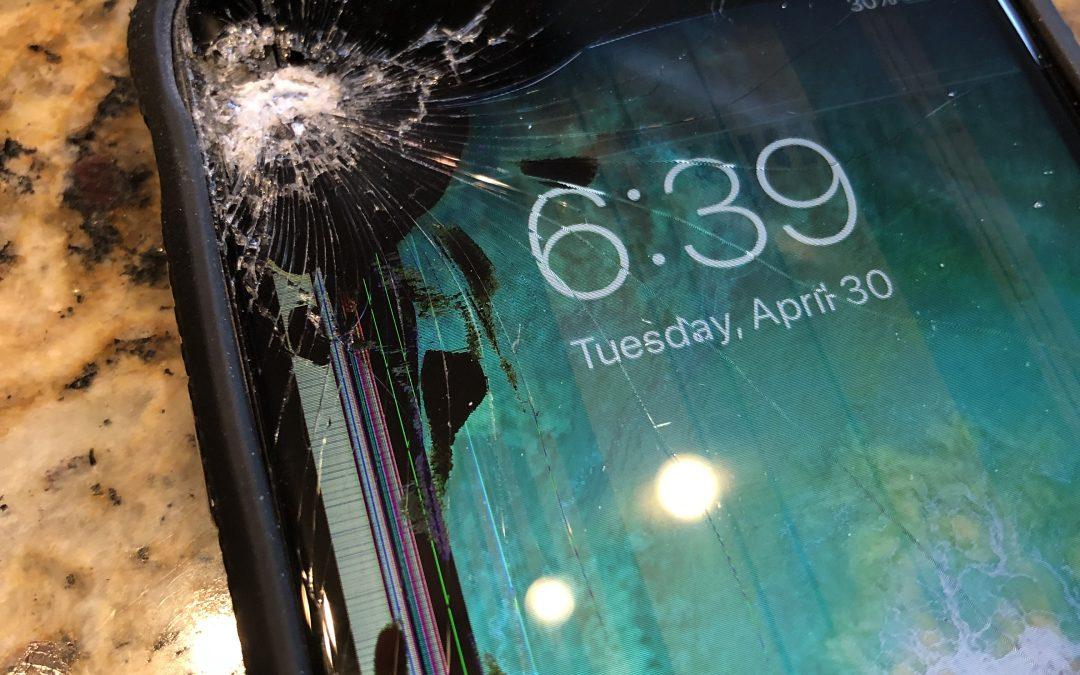 cracked screen repair cost iphone