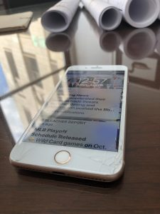 Cracked iPhone repair in detroit